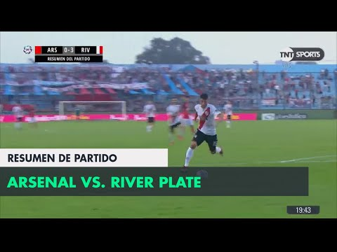 Resumen de Arsenal vs River Plate (0-3) | Fecha 24 - Superliga Argentina 2017/2018