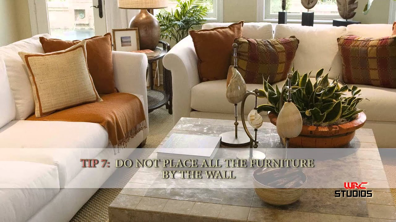 How to Arrange Your Living Room Furniture  YouTube