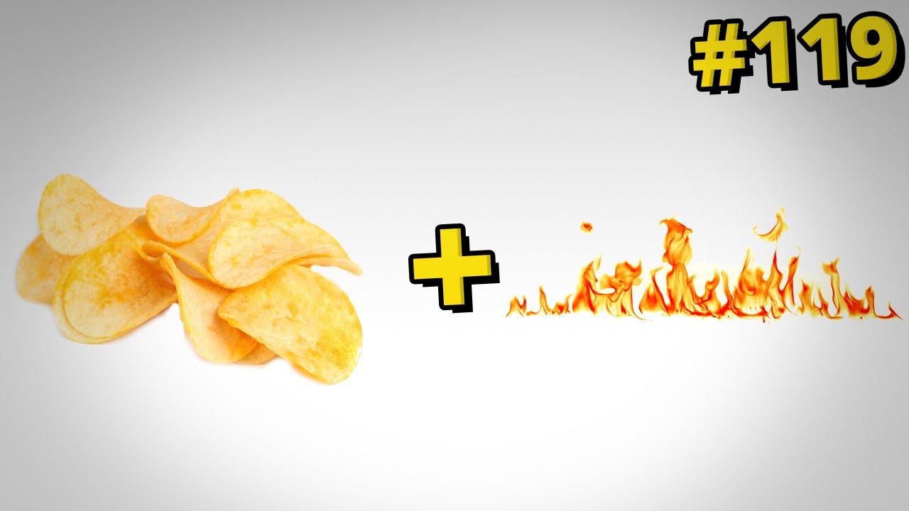 Jak rozpalić ogień za pomocą chipsów