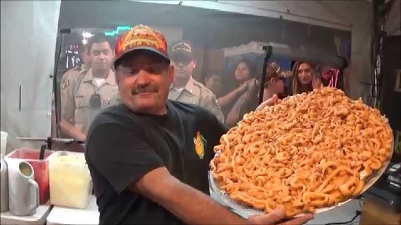 Worlds Largest Funnel Cake