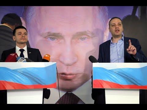 'Путин. Итоги. 2018' / Доклад Яшина и Милова / LIVE