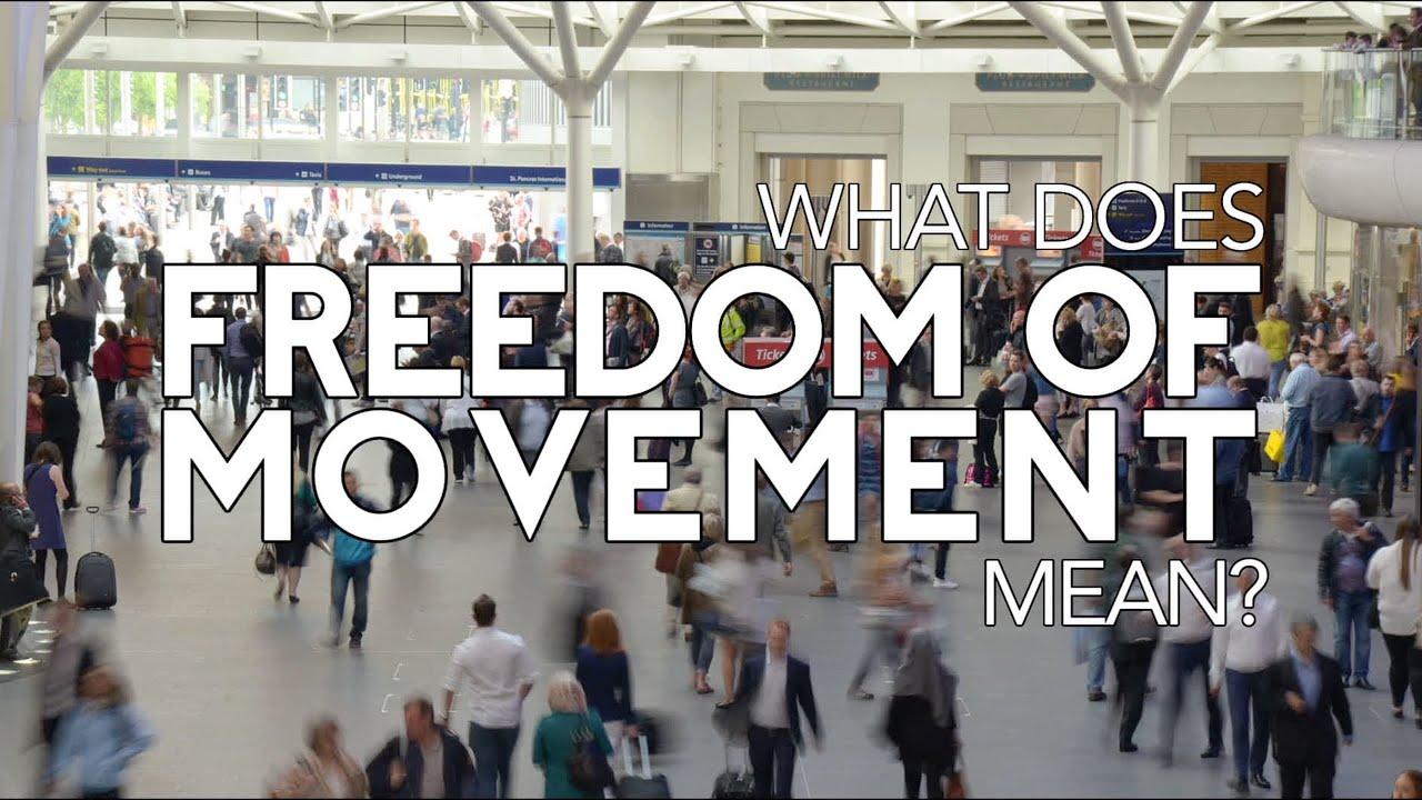 e3671cc6a Freedom Of Movement - YouTube