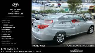 Used 2009 Hyundai Elantra   Rite Cars, Inc, Lindenhurst, NY