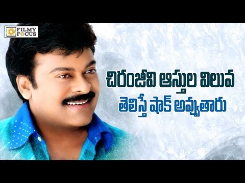OMG : Chiranjeevi's Property is Rs.10,000 Crs - Filmyfocus.com