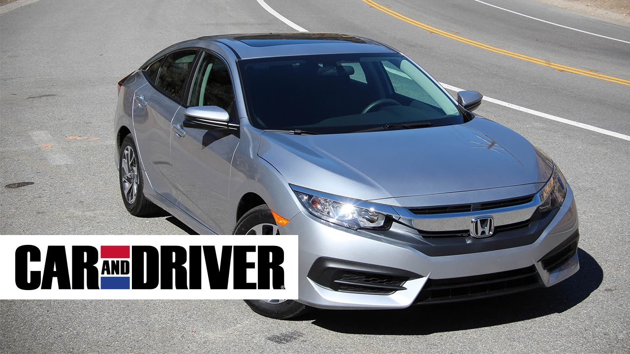 Honda Civic Review In Seconds Car And Driver YouTube - Car and driver