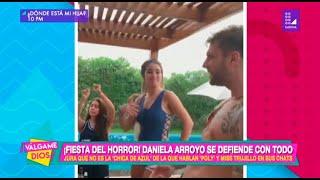 ¡Fiesta del horror!: Daniella Arroyo se defiende con todo - Válgame Dios