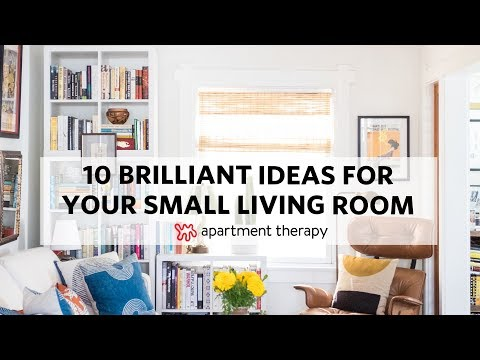 10 Brilliant Ideas For Your Small Living Room Apartment