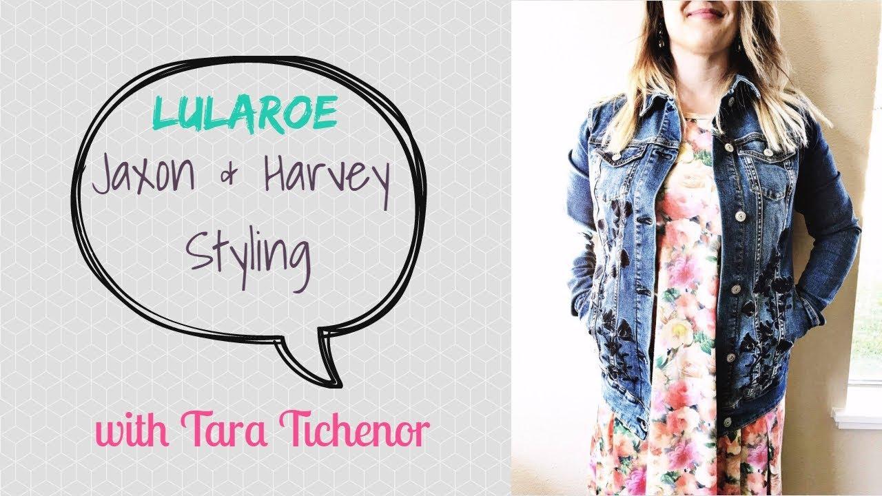 43a3ddd3f77 LuLaRoe Harvey   Jaxon styling tips - YouTube