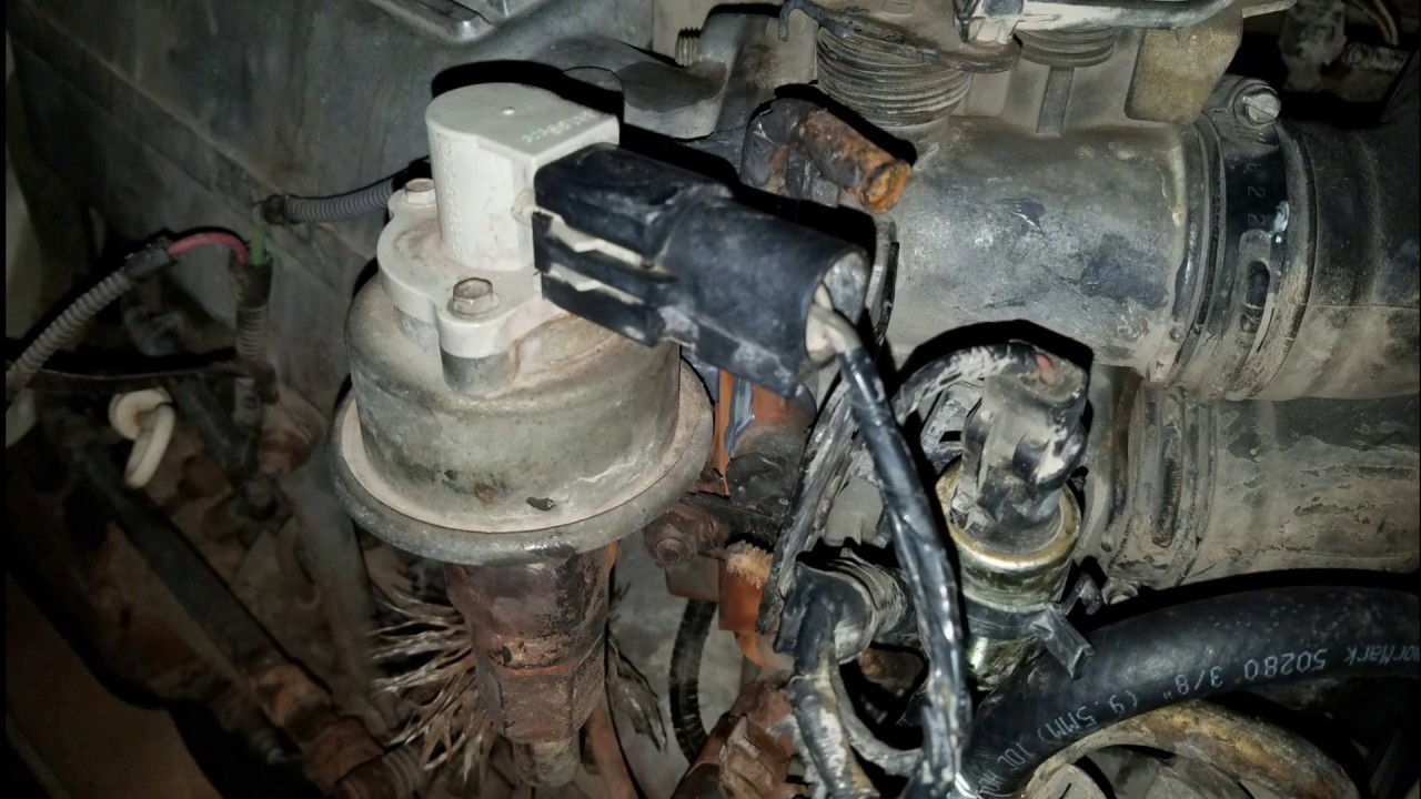 1994 ford f150 transmission problem not shifting and throttle body cooling line [ 1280 x 720 Pixel ]
