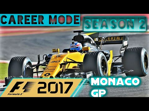F1 2017 Ps4 Livestream Career Mode  Monaco GP Season 2 : Fighting For Points