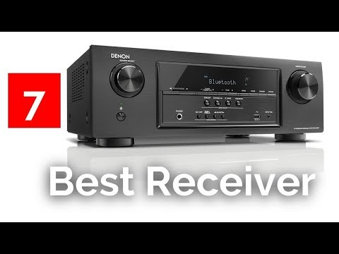 Top 7 Best AV Receivers - Best Home Theater Receiver Reviews 2017-2018