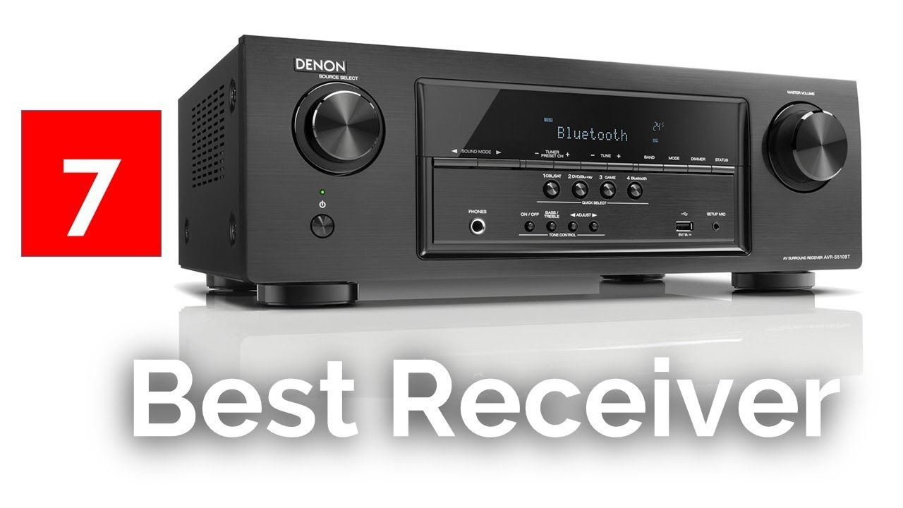 Best 2019 Av Receiver Top 7 Best AV Receivers   Best Home Theater Receiver Reviews 2018