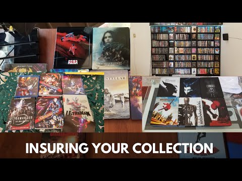 Protect your movie collection, Insure it!
