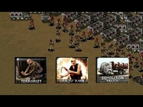 Red Alert 2: Yuri's Revenge - Comparing Terrorists, Crazy Ivan & Demolition Trucks