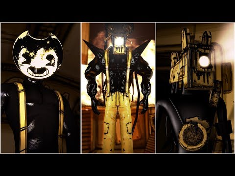 [SFM/BATIM] Sammy Fuses With The Projectionist - Bendy And The Ink Machine Animation