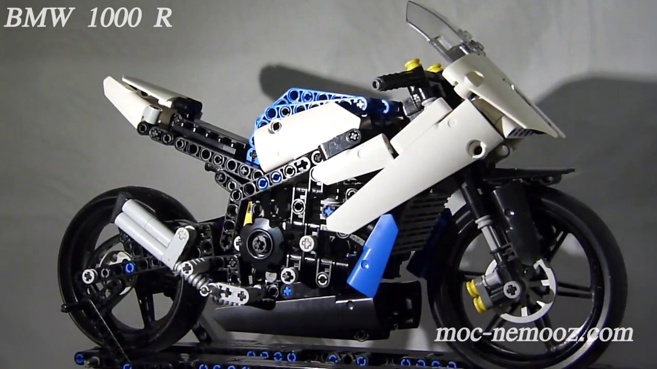 bmw 1000 r lego technic motorcycle youtube. Black Bedroom Furniture Sets. Home Design Ideas