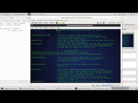 Installation Serveur VoIP Asterisk Linux Centos