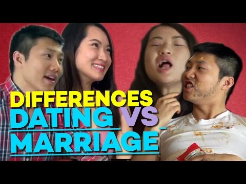 Difference between dating and marriage video