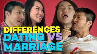 15 Differences Between Dating and Marriage