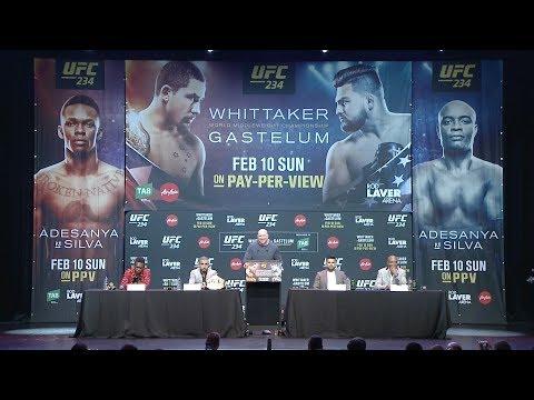 UFC 234: Полная пресс-конференция