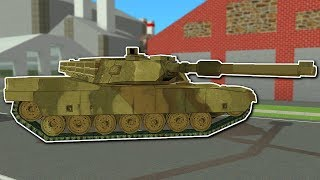 STEALING A TANK! - Voxel Turf Gameplay - 5 Star Police Chase & Tank!