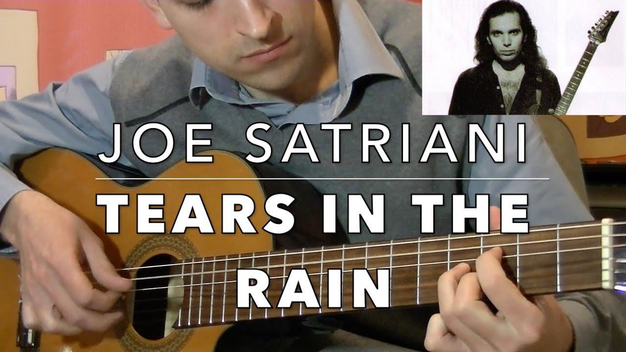 satriani tears in the rain tab pdf