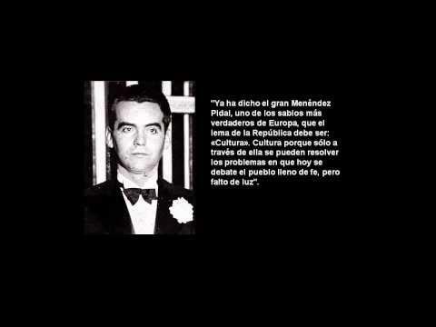Federico García Lorca - Discurso en 1931