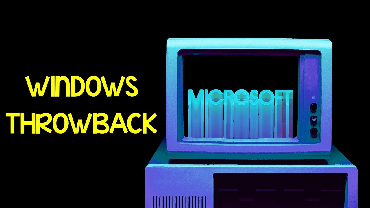 Windows Throwback Theme - A Nostalgia Wave From Microsoft!