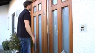 inotherm haustren sicherheit video. Black Bedroom Furniture Sets. Home Design Ideas