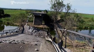 Після бою. Дорога Слов'янськ - Краматорськ