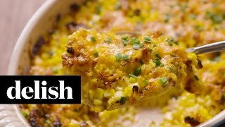 How To Make Baked Creamed Corn  Delish