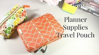 What's In My Planner Supply Pouch