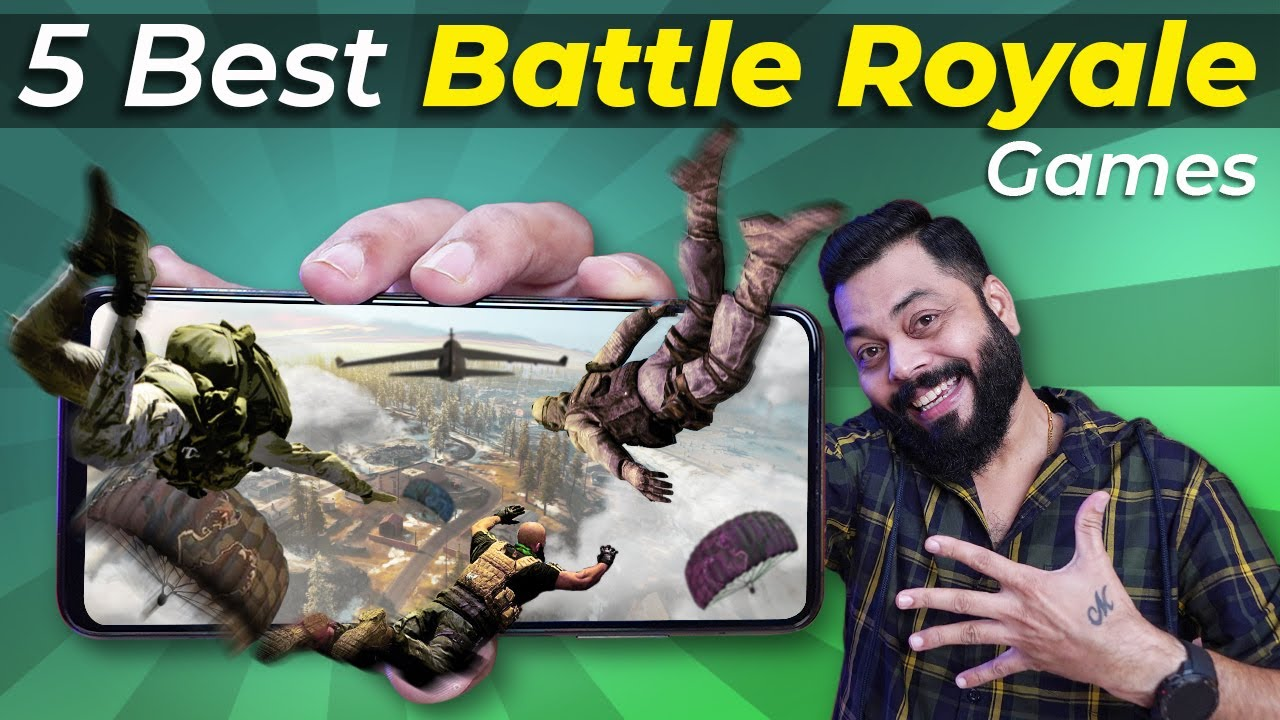 Download Top 5 Best Battle Royal Games ⚡ PUBG Mobile Alternatives You Can Play Now!