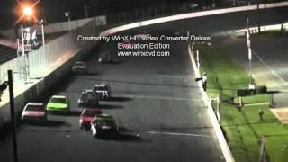 u car crash caraway speedway