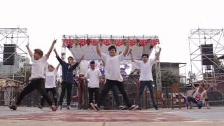Cartoonz Crew performing  live at KEC college - With you choreography and freestyle 💕