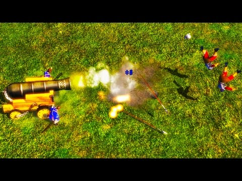 Age of Empires 3 Lil Bombard Physics!!