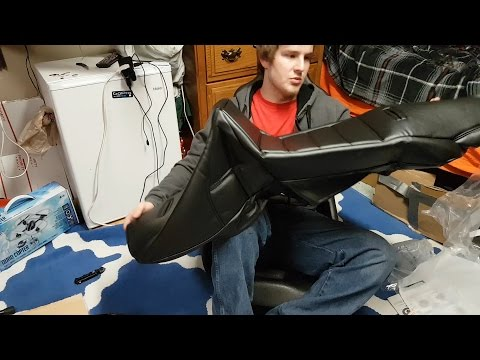 Unboxing JEGS Performance Products 70270 Pro High Back Vinyl Seat Cover