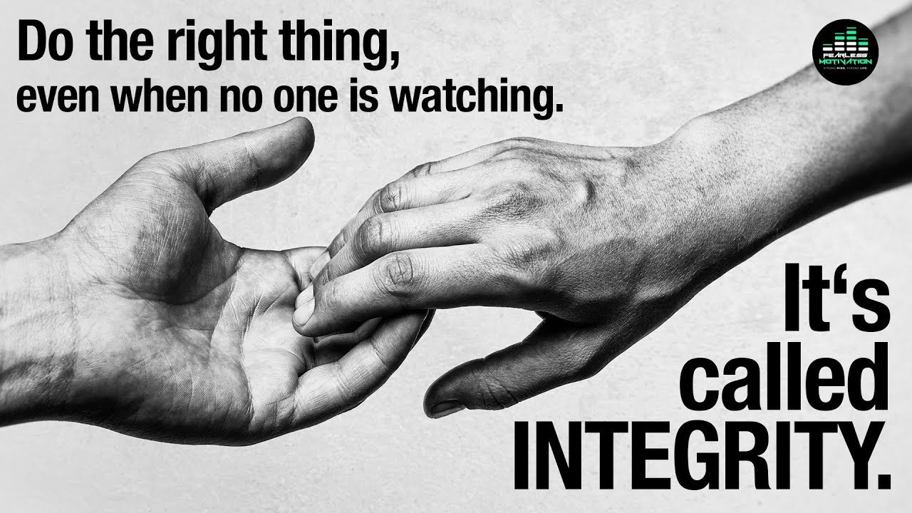 Download Do The Right Thing, Even When No One Is Watching: It's Called Integrity