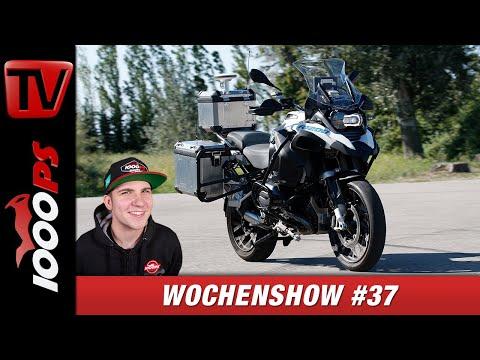 Selbstfahrende Motorräder, Ducati Monster Modelhistorie, uvm.! 1000PS Wochenshow #37