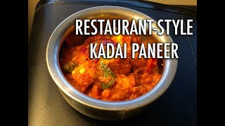 Restaurant Style Kadai Paneer Recipe | Homemade Kadai Paneer Recipe | Cooking with Anadi