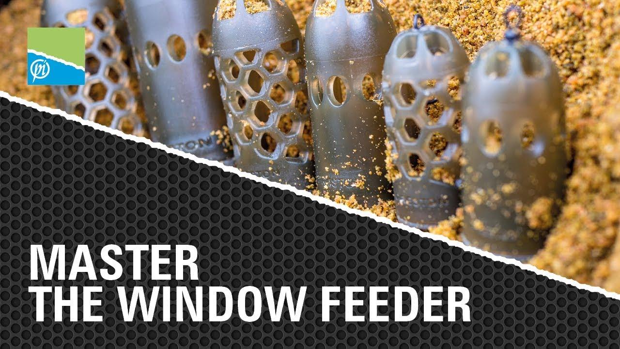 PRESTON INNOVATIONS caged window feeders full range!!