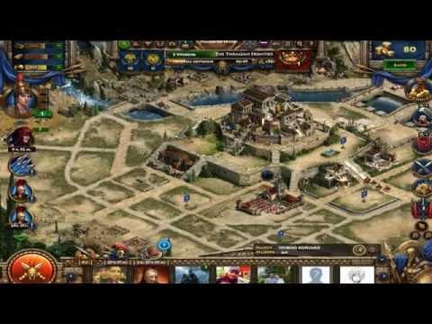 Прохождение игры Спарта:Война империй #1