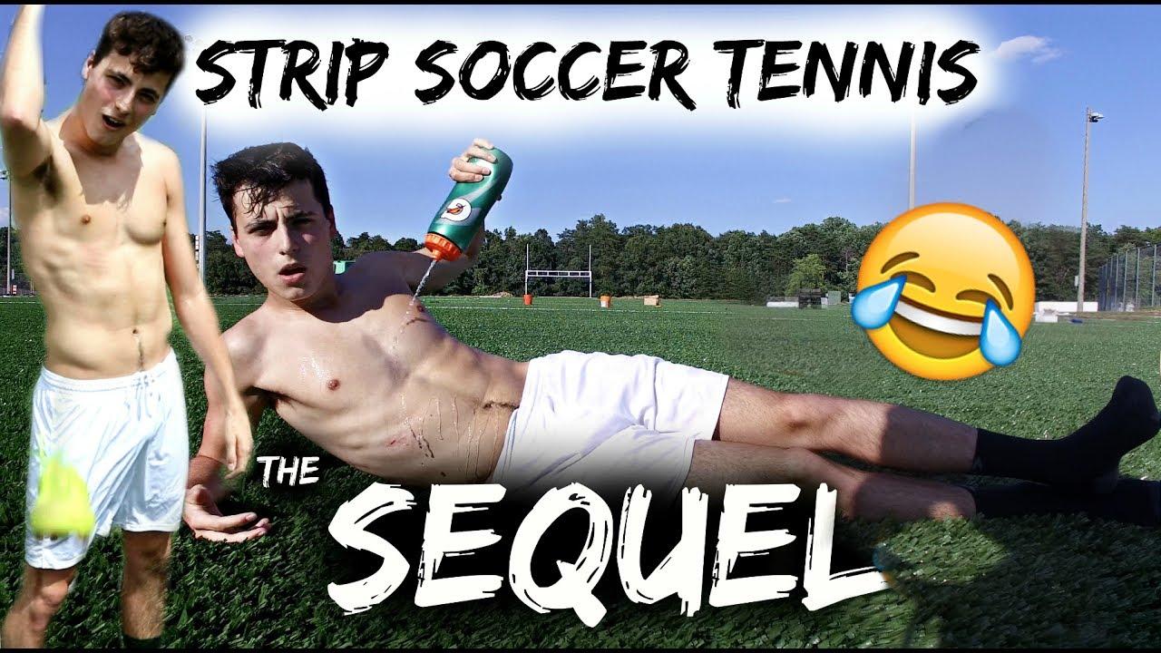 Soccer strip game