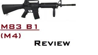 Double Eagle M83 B1 - 0,5 Joule - Review [Deutsch / German / HD] ( M4 RIS )