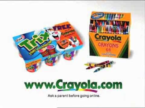 Trix Yogurt - 64 Crayola Crayons (2001) - YouTube