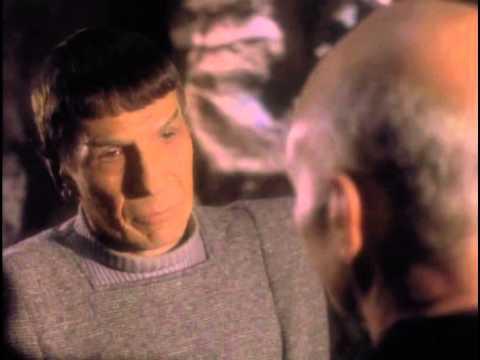 Spock, Picard, Sarek