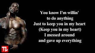 Tyrese - How You Gonna Act Like That (Lyrics Video) HD 🎵""