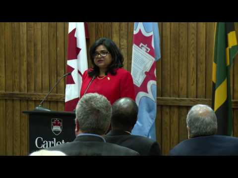 Ambassador Speaker Series: High Commissioner of Jamaica, Her Excellency Janice Miller