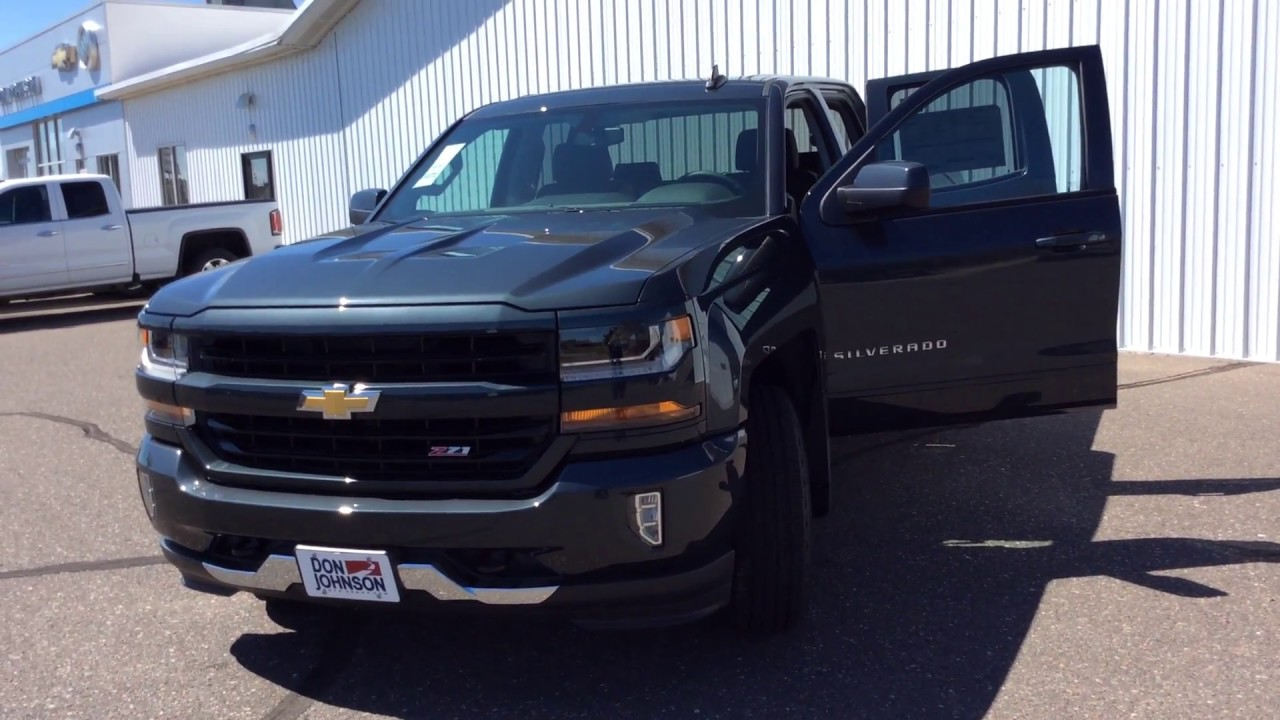 2017 Chevrolet Silverado Double Cab Graphite Metallic Z71 ...
