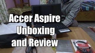 Unboxing of Acer Aspire ES 15 ES1-523-20DG